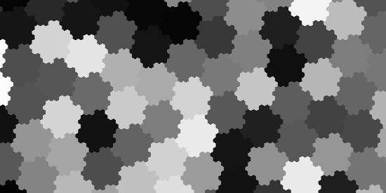 """Cloudy"""" noise on a hex grid 