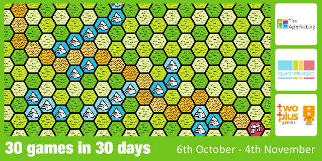 30 games banner